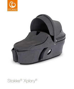 stokke xplory v6 liggdel - mörkgrå, Design, textil/plast - Stokke