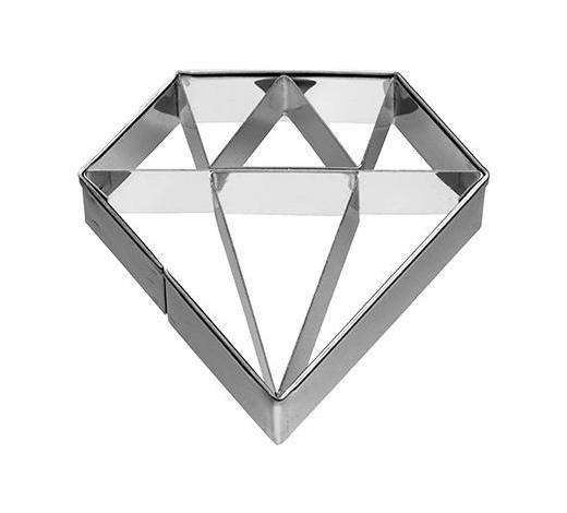 KEKSAUSSTECHFORM - Edelstahlfarben, Basics, Metall (6/2,5/6cm) - Birkmann