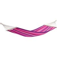 STABHÄNGEMATTE - Pink/Lila, KONVENTIONELL, Holz/Textil (100/310cm)