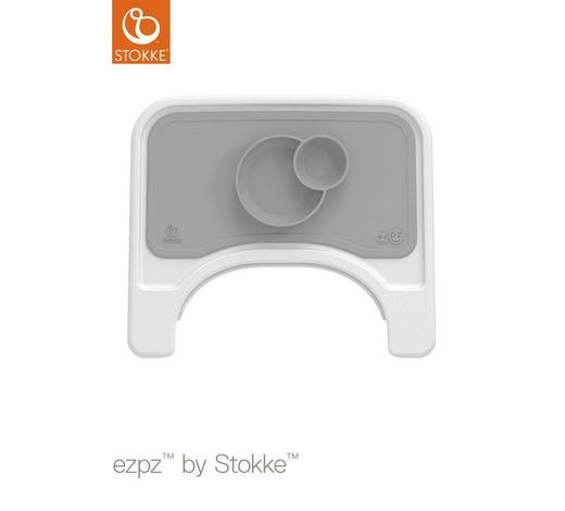 ESSMATTE  - Grau, Trend, Kunststoff (38/21/3cm) - Stokke