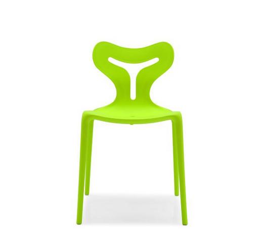 STUHL in Kunststoff Grün  - Grün, Design, Kunststoff (50,5/80/50cm) - Calligaris