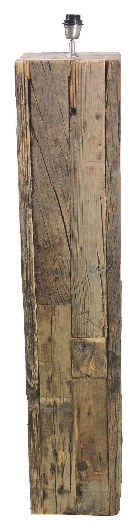 LEUCHTENFUß  Braun  Holz - Braun, Natur, Holz (25/25/120cm)