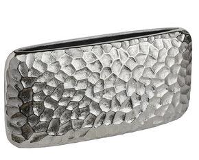 VAS - nickelfärgad, Design, metall (32/15,5/7cm) - Ambia Home