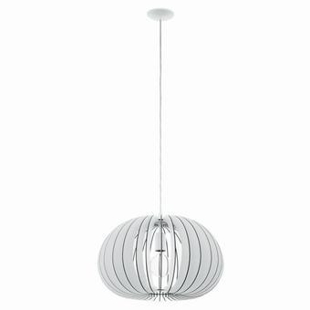 TAKLAMPA - vit, Design, metall/trä (45/110cm) - NOVEL
