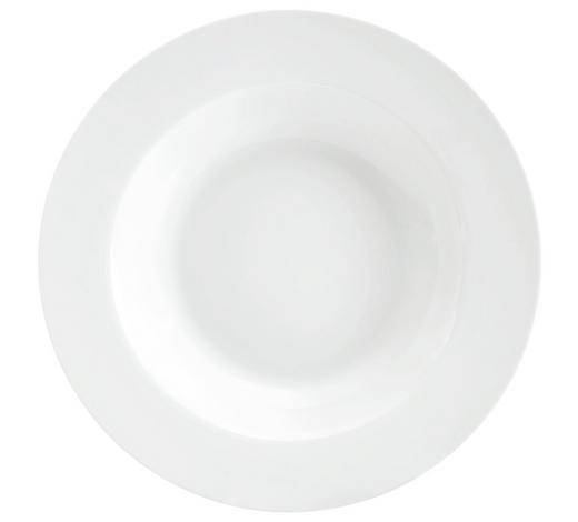TALÍŘ NA POLÉVKU - bílá, Basics, keramika (22cm) - Homeware