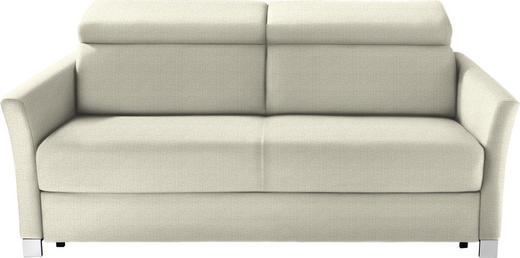 SCHLAFSOFA in Textil Naturfarben - Silberfarben/Naturfarben, KONVENTIONELL, Holz/Textil (185/100/100cm) - Bali