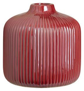 VAS - mörkrosa, Basics, keramik (16/16cm) - Ambia Home
