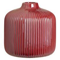 VÁZA - tmavě růžová, Basics, keramika (16/16cm) - Ambia Home