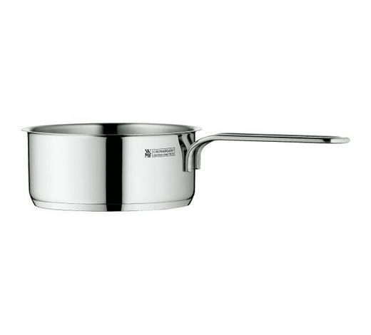 STIELKASSEROLLE 0,9 L - Edelstahlfarben, Design, Metall (14cm) - WMF