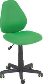 OTOČNÁ ŽIDLE - černá/zelená, Konvenční, textil/umělá hmota (42/82-94/58cm) - Xora