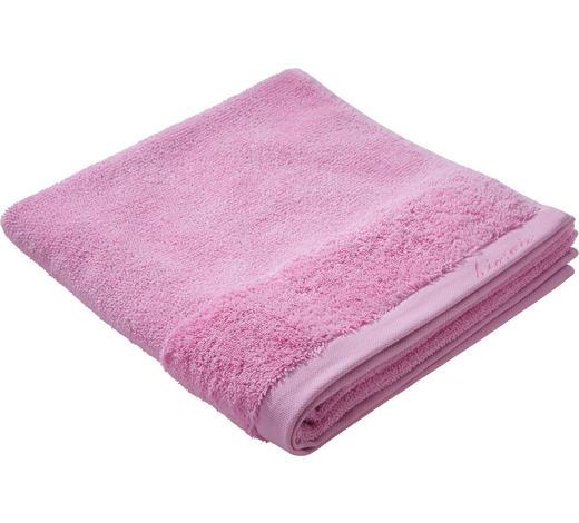 DUSCHTUCH 70/140 cm  - Rosa, Natur, Textil (70/140cm) - Bio:Vio