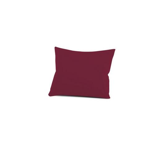 KISSENHÜLLE - Bordeaux, Basics, Textil (40/60cm) - Schlafgut