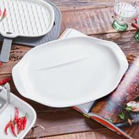 GRILLTELLERSET Porzellan  2-teilig  - Weiß, Basics, Keramik (36/25/2,5cm) - Villeroy & Boch