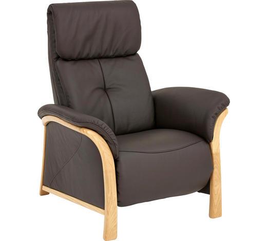 Sessel In Holz Leder Eichefarben Schwarz Online Kaufen Xxxlutz