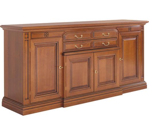 SIDEBOARD 210/96/50 cm  - Kirschbaumfarben/Goldfarben, LIFESTYLE, Holz/Holzwerkstoff (210/96/50cm)