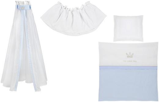 STUBENWAGENSET - Blau/Weiß, Basics, Textil - Patinio