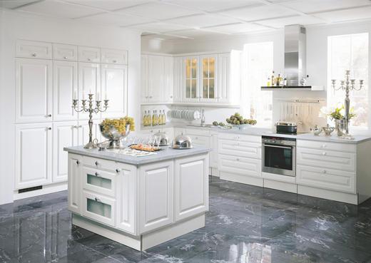 EINBAUKÜCHE - Weiß, LIFESTYLE - Nolte Küchen