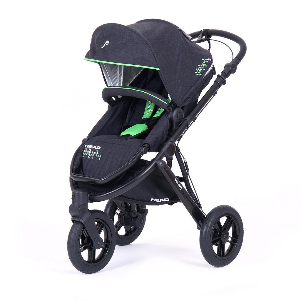 Knorr Head sport3 kinderwagenset grün