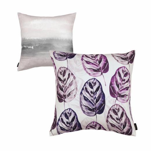 KISSENHÜLLE Violett 45/45 cm - Violett, Textil (45/45cm)