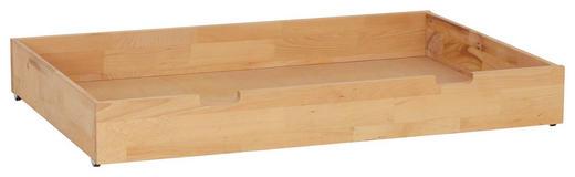 BETTSCHUBKASTEN - Buchefarben, Design, Holz/Kunststoff (120/16/80cm) - Linea Natura