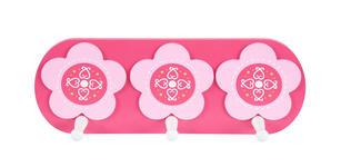 WANDGARDEROBE - Pink/Weiß, Basics, Holz/Holzwerkstoff (12/32cm) - MY BABY LOU