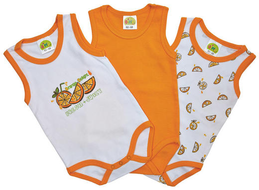 BABYBODY-SET 3-teilig - Multicolor, Basics, Textil (50-92null) - Dimotex