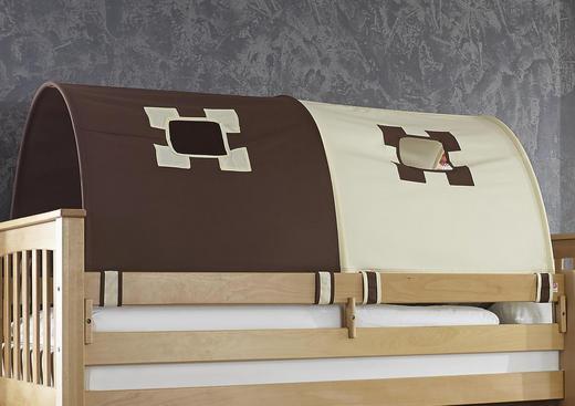 TUNNELSET - Beige/Braun, Design, Textil