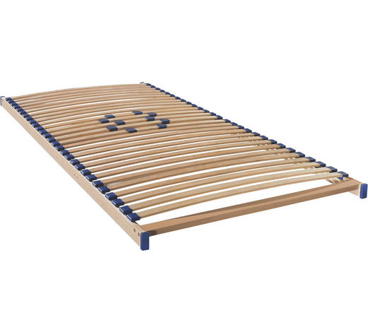 LATTENROST 100/190 cm - Birkefarben, Basics, Holz/Kunststoff (100/190cm) - Sleeptex