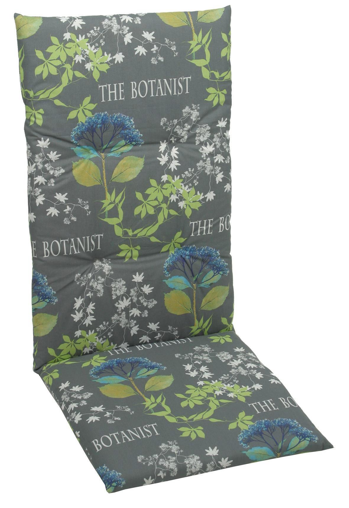 JASTUK ZA STOLICU - siva/zelena, Design, tekstil (50/118/5cm) - AMBIA GARDEN