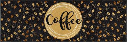 FUßMATTE 60/180 cm Kaffee Beige, Braun - Beige/Braun, Basics, Kunststoff/Textil (60/180cm) - Esposa
