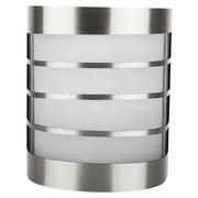 AUßENLEUCHTE - Silberfarben, KONVENTIONELL, Glas/Kunststoff (13,7/19,1/11,2cm) - Ambia Garden
