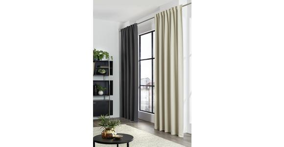 FERTIGVORHANG Verdunkelung  - Beige, Basics, Textil (140/300cm) - Esposa