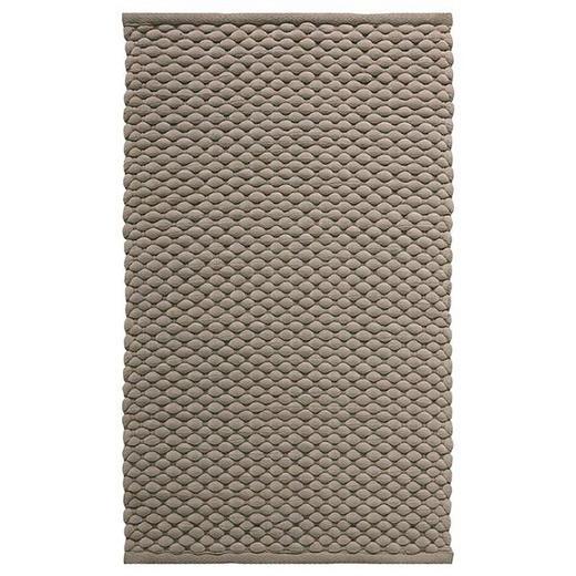 BADTEPPICH  Taupe  70/120 cm - Taupe, Basics, Textil (70/120cm) - Aquanova