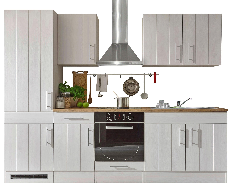 KUHINJSKI BLOK - bijela/boje hrasta, Lifestyle, drvni materijal (270/212/60cm) - Xora