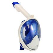 SCHNORCHEL-MASKE 1000 S/M - Blau/Weiß, Trend, Kunststoff
