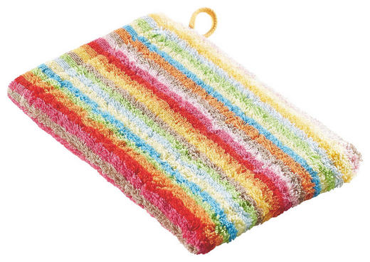WASCHHANDSCHUH  Multicolor - Multicolor, Basics, Textil (16/22cm) - Cawoe