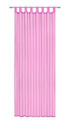 ZÁVĚS HOTOVÝ - růžová, Basics, textil (140/245cm) - Boxxx