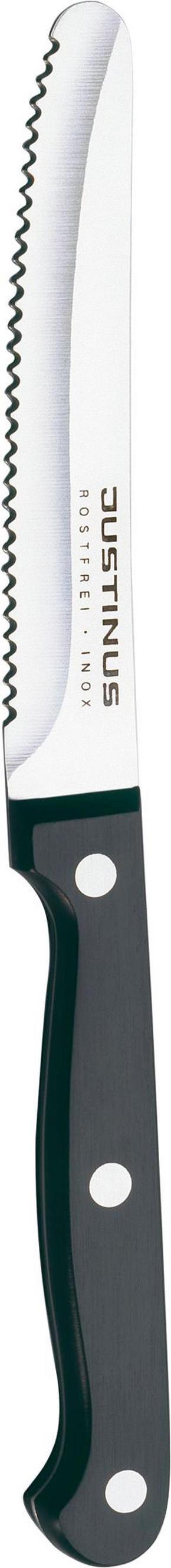 BRÖDKNIV - svart, Basics, metall/plast (22/5/3cm) - Justinus