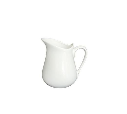MILCHKRUG 0,5 L - Weiß, Basics, Keramik (13/12,5/10cm) - Novel