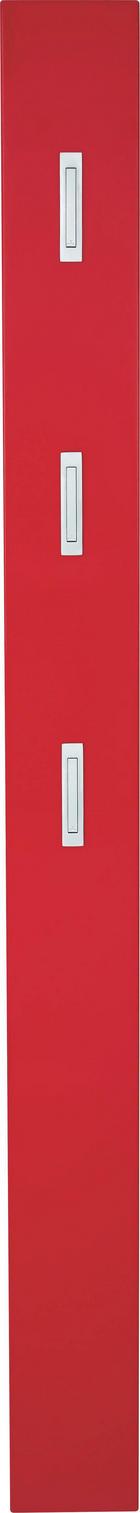 GARDEROBENPANEEL - Rot, Design, Holzwerkstoff (15/170/4cm) - XORA