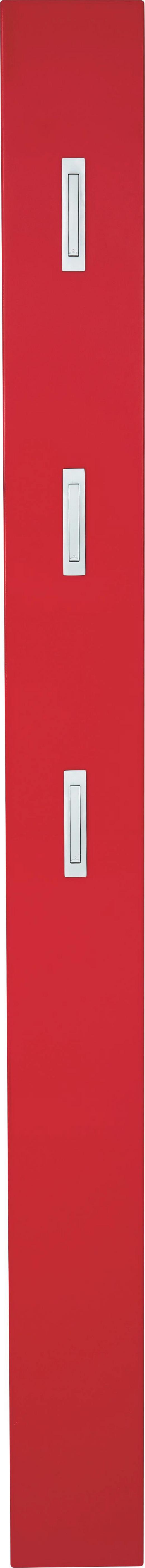GARDEROBENPANEEL 15/170/4 cm - Rot, Design, Holzwerkstoff (15/170/4cm) - Xora