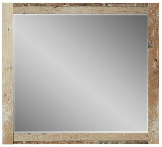 WANDSPIEGEL 79/70/2 cm - Naturfarben, Trend, Glas/Holzwerkstoff (79/70/2cm) - Voleo