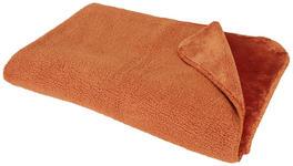 WOHNDECKE 150/200 cm Rostfarben  - Rostfarben, KONVENTIONELL, Textil (150/200cm) - Novel