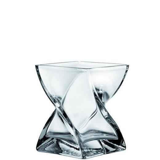 VASE - Klar, Basics, Glas (14/17/14cm) - LEONARDO