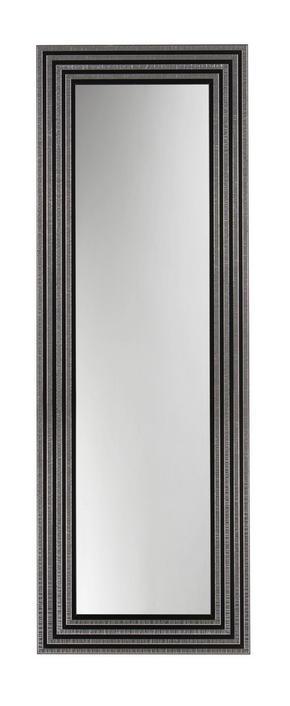 VÄGGSPEGEL - silver/svart, Design, glas/trä (54/154/2cm)