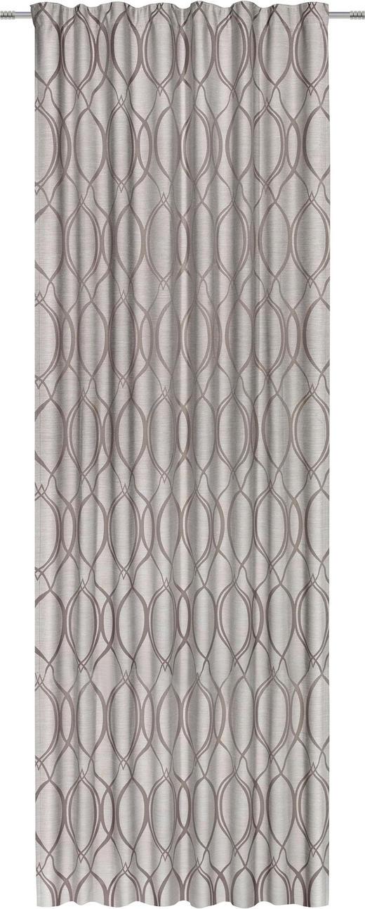 FERTIGVORHANG  blickdicht  140/300 cm - Braun, KONVENTIONELL, Textil (140/300cm) - Esposa