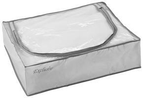 HOPFÄLLBAR FÖRVARINGSKORG - grå, Basics, plast (55/15/45cm)