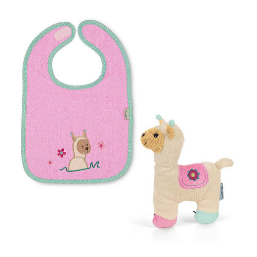 BABYGESCHENKSET - Creme/Rosa, Basics, Textil (20/24/5cm) - Sterntaler