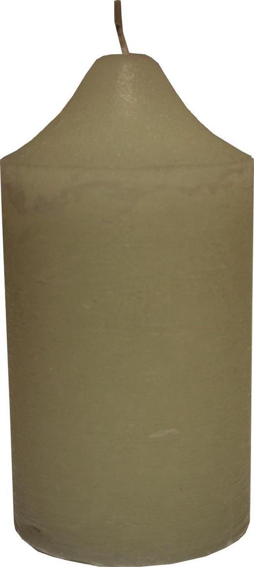 STUMPENKERZE 10/19 cm - Champagner, Basics (10/19cm) - Ambia Home