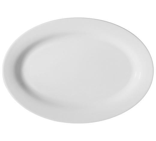 PODNOS SERVÍROVACÍ - bílá, Basics, keramika (32/22cm) - Novel